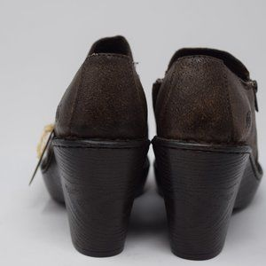 Born Shoes - NWT Born Brown Dress Shoes with Zipper Size 7.5 M